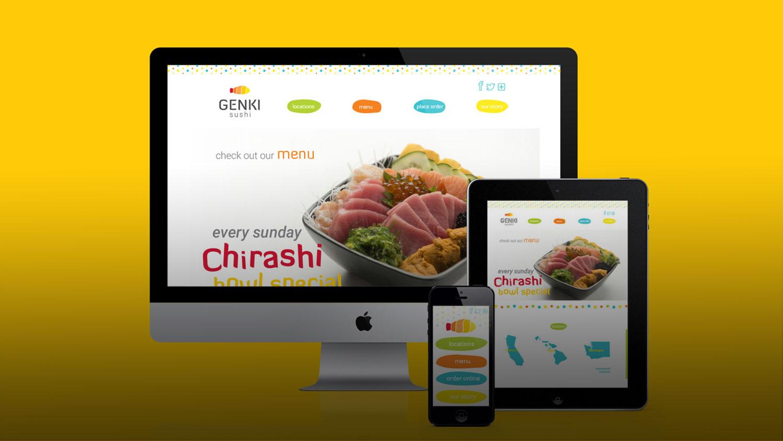 Genki Sushi Rebrand